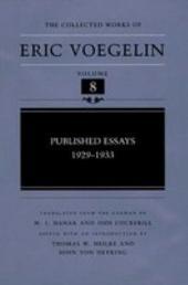 Published Essays, 1929-1933