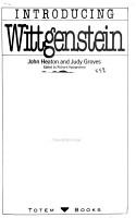 Introducing Wittgenstein PDF