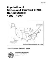 Population of States & Counties of the United States: 1790-1990