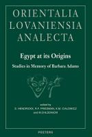 Egypt at Its Origins PDF