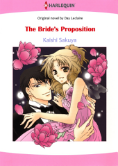 THE BRIDE'S PROPOSITION: Harlequin Comics
