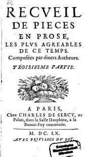 Recueil De Pieces En Prose: Les Plus Agreables De Ce Temps, Volume3