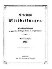Erbauliche Mitteilungen: e. Gemeinschaftsbl. zur gegenseitigen Stärkung im Glauben an d. Herrn Jesum, Band 9