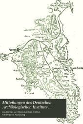 Mitteilungen des Deutschen Archäologischen Instituts, Athenische Abteilung: Band 16