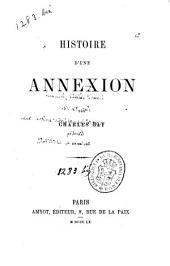 Histoire d'une annexion