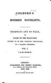 Highways and by-ways: Or, tales of the road-side, picked up in the French provinces, Volume 1