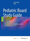 Pediatric Board Study Guide PDF