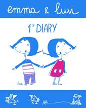 Emma and Luvi first diary