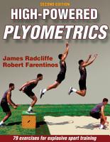 High Powered Plyometrics  2E PDF