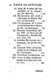 Bibliothèque des sciences, et des beaux arts: Volume37