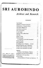 Sri Aurobindo: archives and research