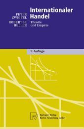 Internationaler Handel: Theorie und Empirie, Ausgabe 3