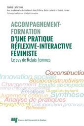 Accompagnement-formation d'une pratique réflexive-interactive féministe: Le cas de Relais-femmes