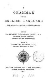 A grammar of the English language  ed  by L  Schmitz PDF