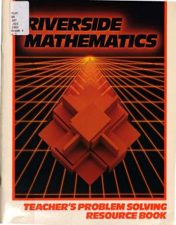 Riverside Mathematics  Teacher s problem solving resource book PDF