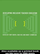 Developing Inclusive Teacher Education