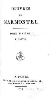 Œuvres de Marmontel: Volume6