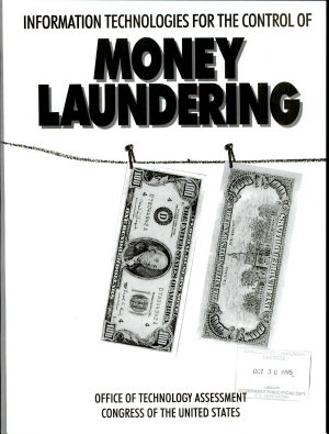 Information Technologies for the Control of Money Laundering PDF