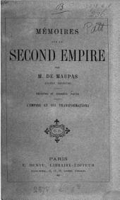 Mémoires sur le Second empire: Volume 2