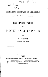 Les divers types de moteurs à vapeur