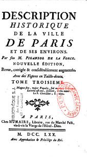 Description historique de la ville de Paris