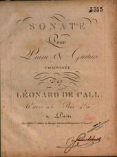 Sonte pour piano & guitare: oeuvre 105