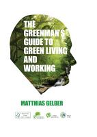 The Greenman s Guide To Green Living and Working PDF