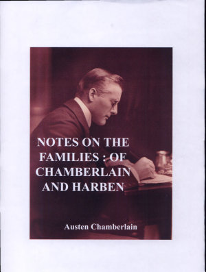 Notes on the families of Chamberlain and Harben PDF