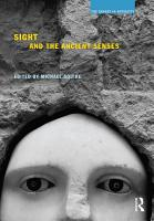 Sight and the Ancient Senses PDF