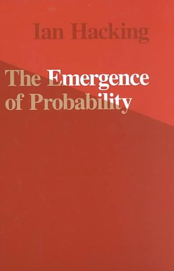 The Emergence of Probability PDF