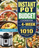 Instant Pot Budget Cookbook