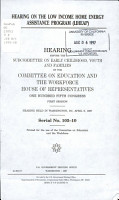 Hearing on the Low Income Home Energy Assistance Program  LIHEAP  PDF