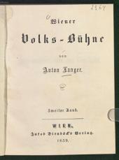 Wiener Volks-Bühne: Band 2
