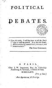 Political debates ...