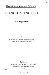 French & English A Comparison