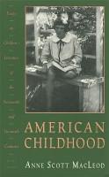 American Childhood PDF