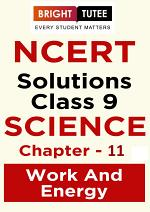 NCERT Solutions for Class 9 Science Chapter 11 Work and Energy