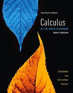 Calculus   Its Applications  Brief Version PDF