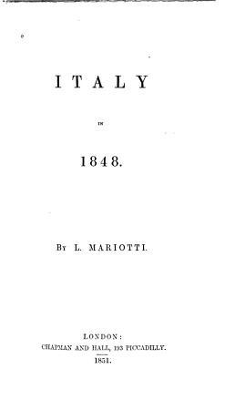 Italy in 1848 PDF