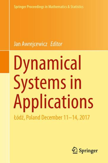 Dynamical Systems in Applications PDF
