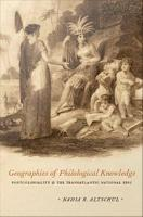Geographies of Philological Knowledge PDF