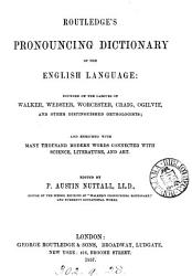 Routledge s pronouncing dictionary of the English language PDF