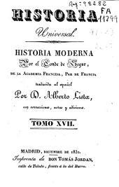 Historia moderna: Volumen 17