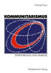 Kommunitarismus: Einführung und Analyse