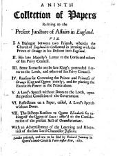 A ninth collection of papers relating to the present juncture of affairs in England: Volume 16