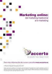 Marketing online: del marketing tradicional al e-marketing