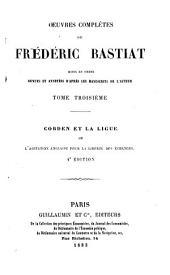 Oeuvres complètes de Frédéric Bastiat: Volume3
