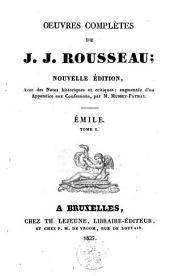 Émile: Volume1