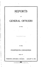 Reports of General Officers of the Brotherhood Railway Carmen of America to the     Convention PDF