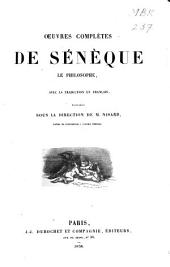 Œuvres complètes de Sénèque le philosophe